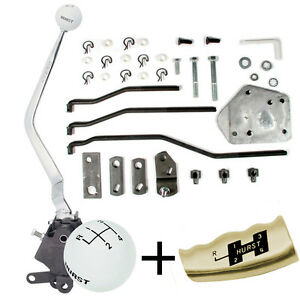 Hurst 4 Speed Shifter Kit 1965 73 Ford Mustang Mercury Cougar Sb Top Loader 432
