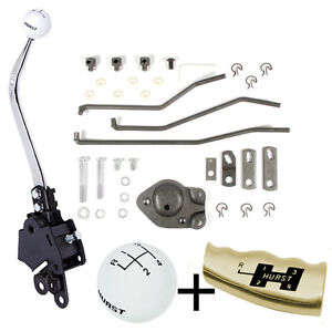 Hurst 4 Speed Shifter Kit 1966 1967 Chevelle El Camino Factory Saginaw Type 441