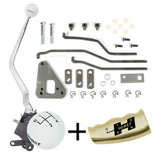 Hurst 4 Speed Shifter Kit 1967 69 Ford Mustang Mercury Cougar T c 433 Top Loader