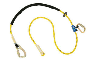 Dbi Sala 1234081 Pole Climber s Adjustable Rope Positioning Lanyard 8 Ft