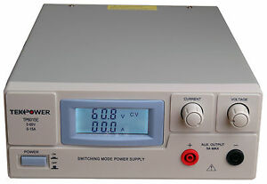 Tekpower Tp6015e Dc Adjustable Switching Power Supply 60v 15a Digital Display