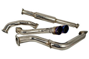 Injen 3 Cat Back Exhaust System W Titanium Tip For 2013 14 Ford Focus St Turbo