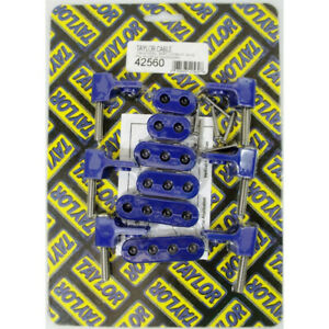 Taylor Spark Plug Wire Holder 42560 Blue Nylon