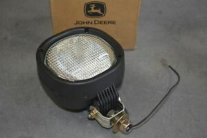 New John Deere 5 X 5 Halogen Light 24 Volt Flood Lamp 65w Abl At141786