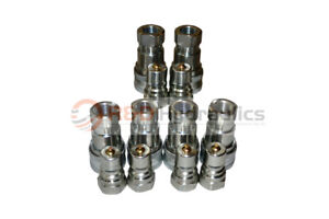 6 Sets Of 3 8 Iso 7241 b Hydraulic Quick Disconnect Couplers