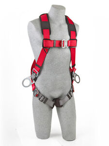 Protecta 1191261 Pro Vest style Positioning Harness Comfort Padding xl