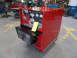 Lincoln Idealarc Dc 400 Arc Welder Power Source W Multi process Switch