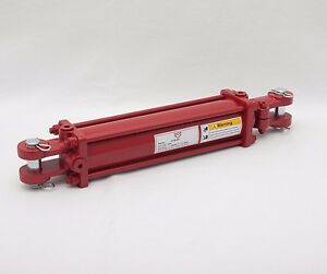 Tie Rod Cylinder 3 X 12 Hydraulic Double Acting 3 In Bore X 12 In Stroke