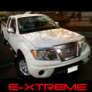 For Nissan Frontier 2005 06 07 08 09 10 11 12 13 14 15 2016 Chrome Mirror Covers