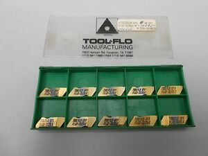 Tool flo Carbide Inserts Gp3 Flgd 3125lk New lot Of 10