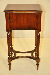 Antique French Occasional Humidor Side Table C 1910 S