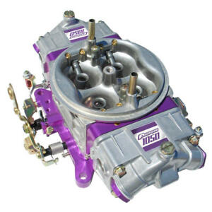 Proform Carburetor 67209 1050 Cfm 4 Barrel Mechanical Secondary Purple satin