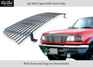 Stainless Steel Billet Grille Grill Insert Fit 1993 1997 Ford Ranger 2wd