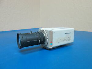 Panasonic Wv cp224 Color Cctv Camera