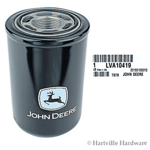John Deere Original Equipment Hydraulic Oil Filter lva10419