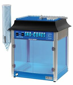 Paragon 1911 Sno storm Sno cone Machine Shaved Ice Snow Cone Commercial Unit