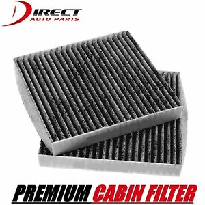 2 Carbon Cabin Air Filter Oe 87139 yzz09 For Toyota Tacoma 2005 2015