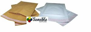 Padded Envelopes Bags White Gold Premium High Quality All Sizes