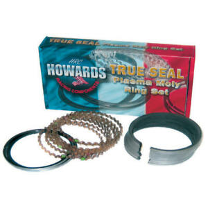 Howards Piston Ring Set Hrc4860 4145 5 True Seal Plasma Moly 4 145 File Fit