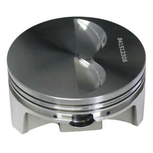 Howards Piston 841512306l Pro Max 4 155 Bore 6 0cc Flat Top For Chevy 400 Sbc