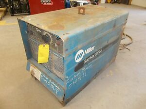 Miller Goldstar 600ss Arc Welding Power Supply Stick tig