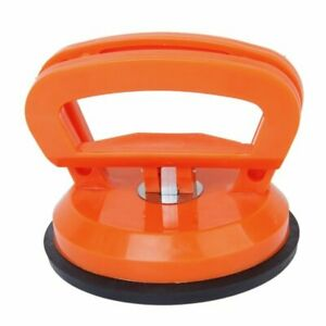 4 In Round Large Suction Cup Dent Remover Puller Car Rubber Pad Lifter