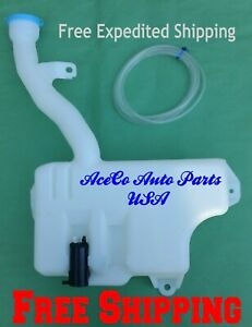 For 2003 2007 Honda Accord 03 07 Windshield Washer Tank Reservoir W Motor Pump
