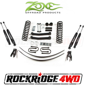 Zone 4 5 Suspension Lift Kit System Jeep Cherokee Xj 84 01 For Axle Dana 35 J9n