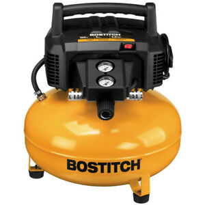 Bostitch 6 Gallon 150 Psi Oil free Compressor Btfp02012 r Reconditioned