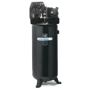 Industrial Air 3 7 Hp 60 Gallon Stationary Air Compressor Ila3606056 New