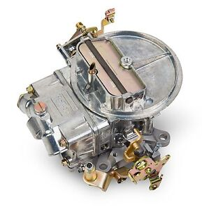 Holley 0 4412s 500cfm Shiny Factory Refurbished 2bbl Carburetor