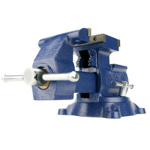 Wilton Wmh14500 4500 Multi purpose Mechanics Vise W 5 1 2 In Jaw Width New