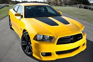 Dodge Charger Hood Inserts With Outline 2011 2012 2013 2014 3m Stripe Factory