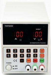 Tekpower Tp3005dc Digital Dc Power Supply 30v 5a Key Pad Control Single Output