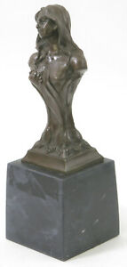 Austria Vienna Muller Hans Bronze Sculpture Women Statue Art By April Floreal T