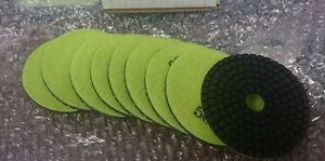Onfloor 223689 Dry Concrete Polishing Pad 3 In Lot Of 9