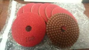 Onfloor 223697 Dry Concrete Polishing Pad 3 In Red Pk 9