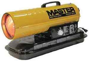 Master Mh 75t kfa Kerosene Forced Air Heater With Thermostat 75 000 Btu