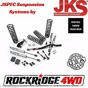 Jspec 2 5 Suspension Lift System For 2007 2018 Jeep Wrangler Jk 4 Door 102k
