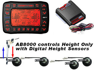 Accuair Vs Smart Ride 8000 Electronic Leveling System Airbag Suspension 5 Preset