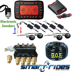 Accuair Elevel Vs Smartride Manifold Level Management Kit Air Ride Suspension