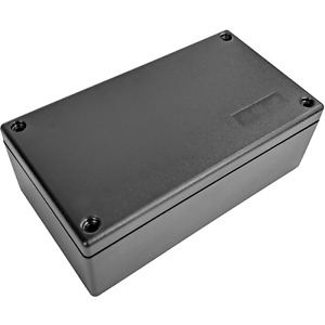 Abs Plastic Electronics Project Box 5 30 l X 2 95 w X 1 92 h Inch Black