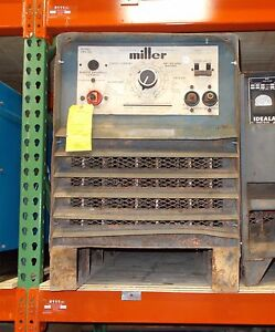 Miller Srh 555 Dc Arc Welding Power Source For Stick smaw