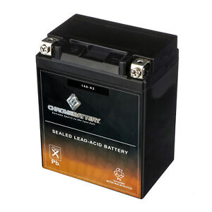Yb14a a2 High Performance Maintenance Free Agm Atv Rechargeable Battery