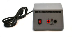 Power Supply 12v Dc Suitable For Hoffman Voltmeter Ce Certified