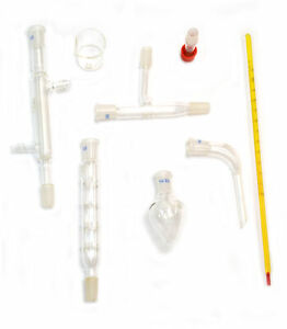 Eisco Labs Starter Kit For Simple Organic Chemistry 8 Pieces