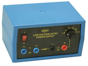 Eisco Labs Power Supply Regulated Ac dc 12v 1a