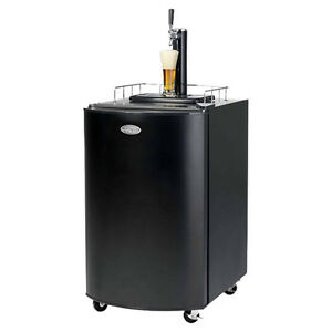 Kegerator Beer Dispenser Brew Draft Tap Full Size Keg Beverage Refrigerator Bar