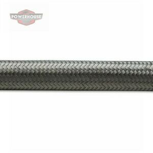 Vibrant 11912 12 An Stainless Steel Braided Flex Hose 2 Foot Roll