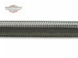 Vibrant 11924 4 An Stainless Steel Braided Flex Hose 20 Foot Roll